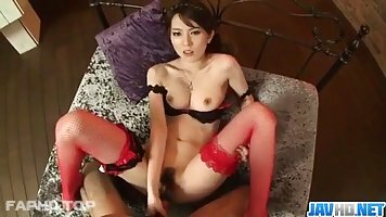 Yui Hatano is about to fuck a guy who is not her partner, for cash