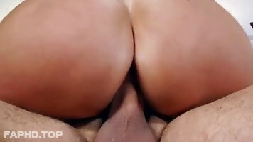 Big ass cougar, Ava Addams is riding a rock hard cock, in the middle of the day